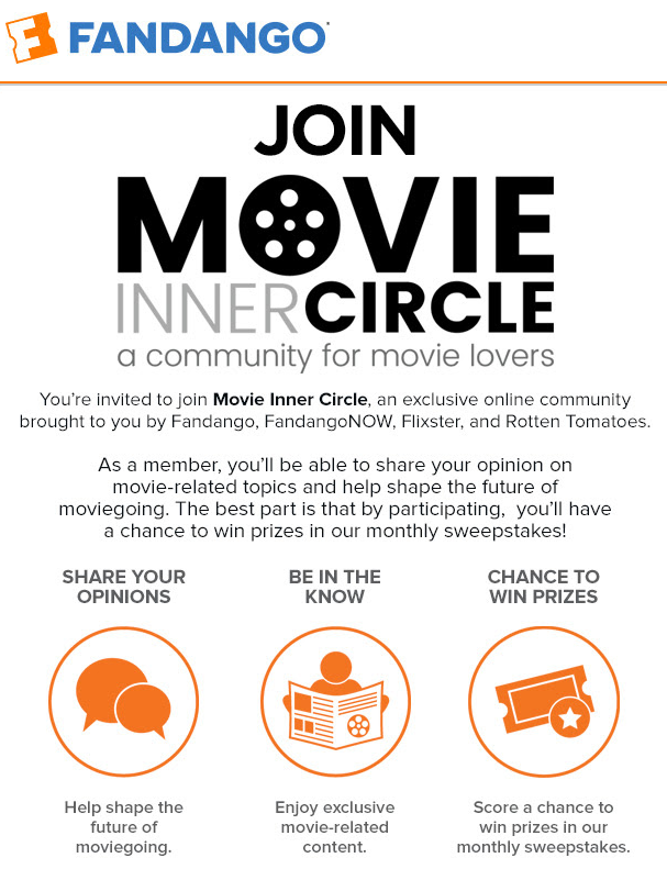 Life by cynthia movie inner circle with fandango flixter and and be willing to share it once my referrals successfully complete the movie inner circle registration process ill get an extra entry for the stopboris Choice Image