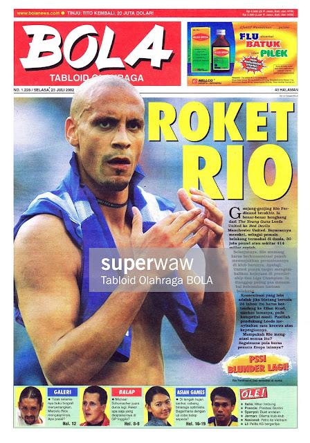 TABLOID BOLA: ROKET RIO