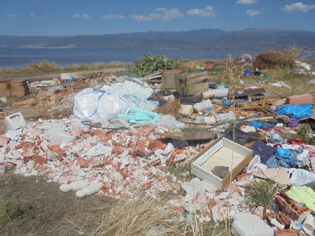 Παράνομες χωματερές στην Περιοχή NATURA