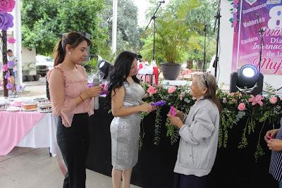 Magno evento en celebración al Día Internacional de la Mujer en Álamos