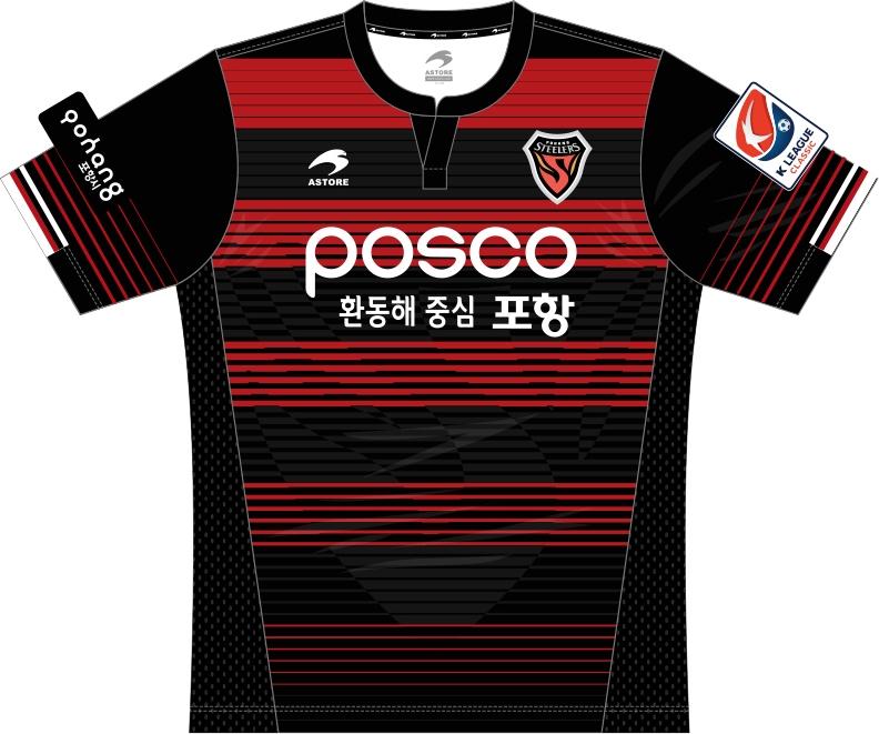 Astore divulga as novas camisas do Pohang Steelers - Show de Camisas 5dda437e7e83c