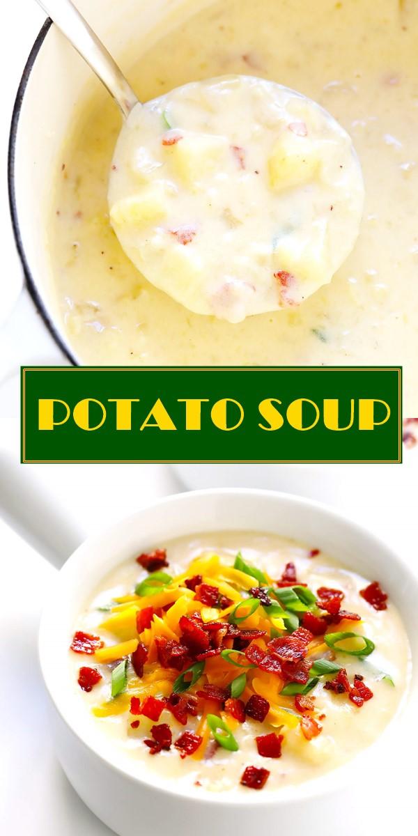 THE BEST POTATO SOUP! #souprecipes
