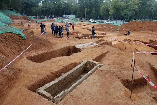 57 ancient tombs found in south China