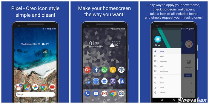 Pireo - Pixel Pie Icon Pack Full Apk