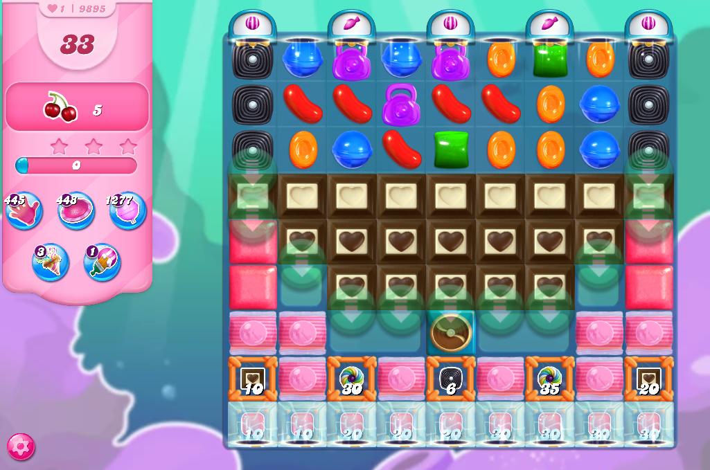 Candy Crush Saga level 9895