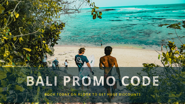 Klook Promo Code Bali