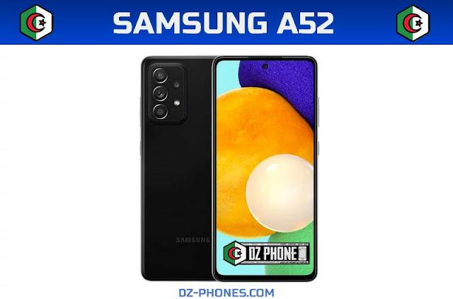سعر سامسونج A52  في الجزائر ومواصفاته Samsung A52 Prix Algerie