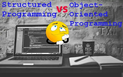 Structured Programming vs Object-Oriented Programming (#oops)(BCASem3)(#ggsipu)(#ipumusings)