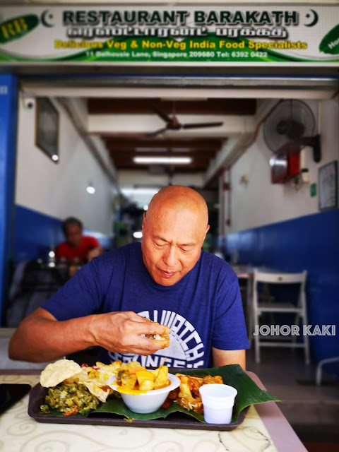 Chef Damian D'Silva @ Barakath Restaurant Dalhousie Lane