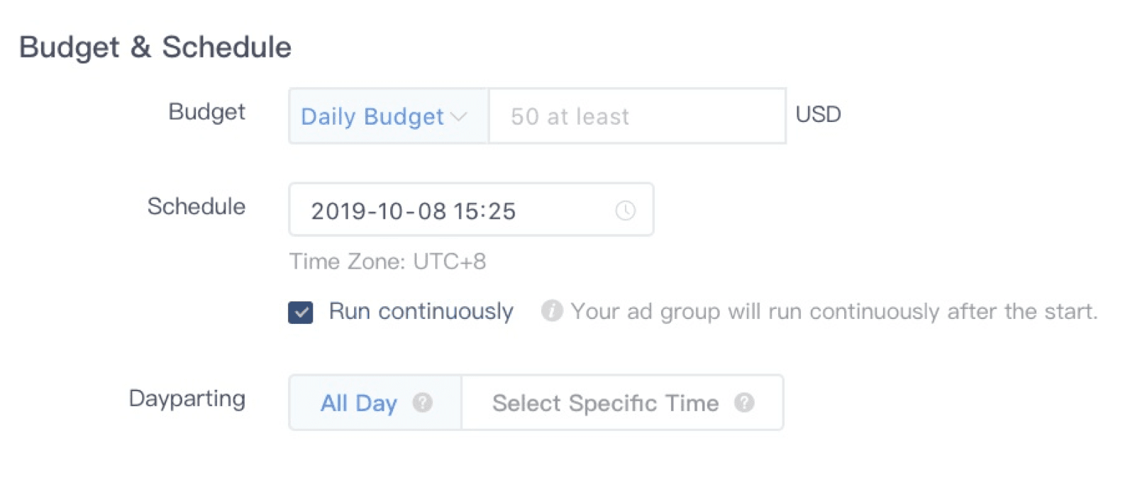 Set a Budget and Schedule