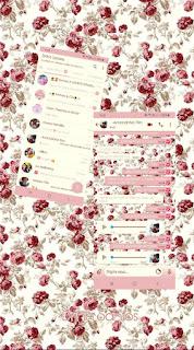 Rosas Theme For YOWhatsApp & Fouad WhatsApp By Driih Santos
