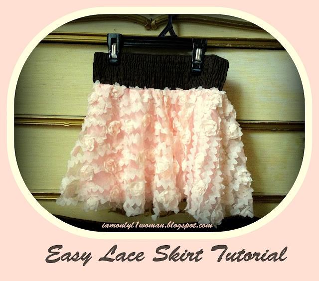 pink flower lace chiffon girls skirt