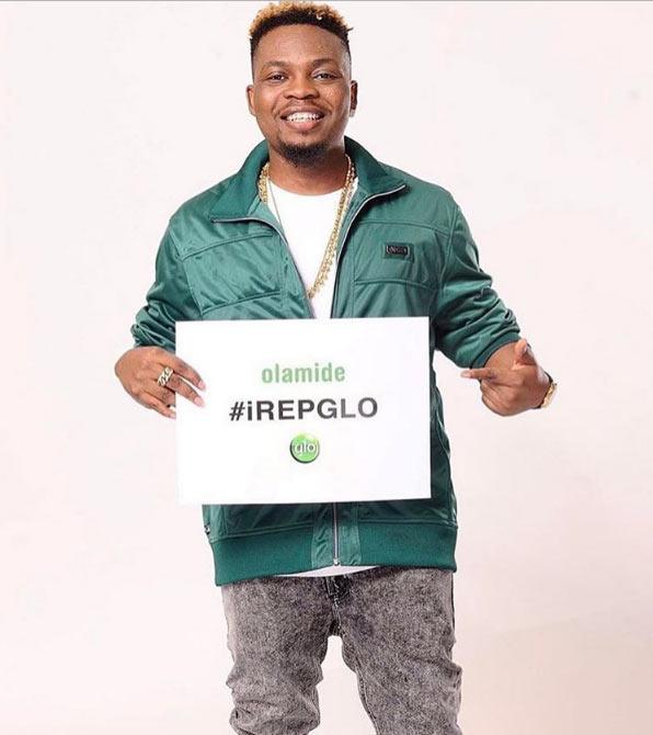 Olamide releases promo shot as rapper becomes Glo ambassador