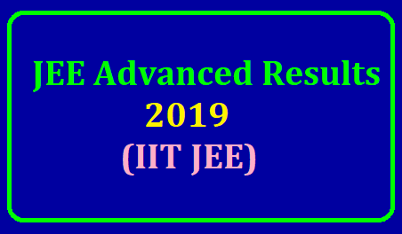 JEE Advanced Result 2019 The JEE Result 2019 for IIT JEE Advanced Examination has been released by the exam administrator IIT, Roorkee on its website jeeadv.ac.in|JEE Advanced Result 2019 Latest Updates: The Indian Institute of Technology (IIT) Roorkee will declare the JEE (Advanced) 2019 result today. Here are the live updates. https://www.paatashaala.in/2019/06/jee-advanced-schedule-admit-cards-exam-date-results-answer-key-joint-entrance-exam.html