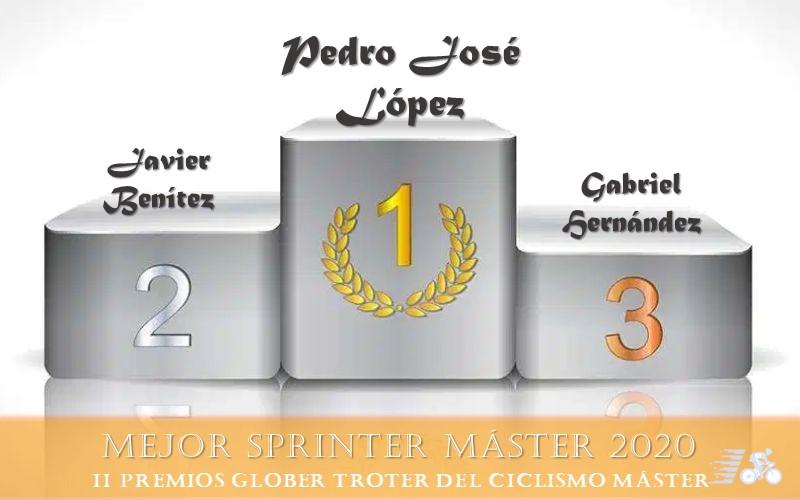 Premio y finalistas al Mejor Sprinter Máster 2020