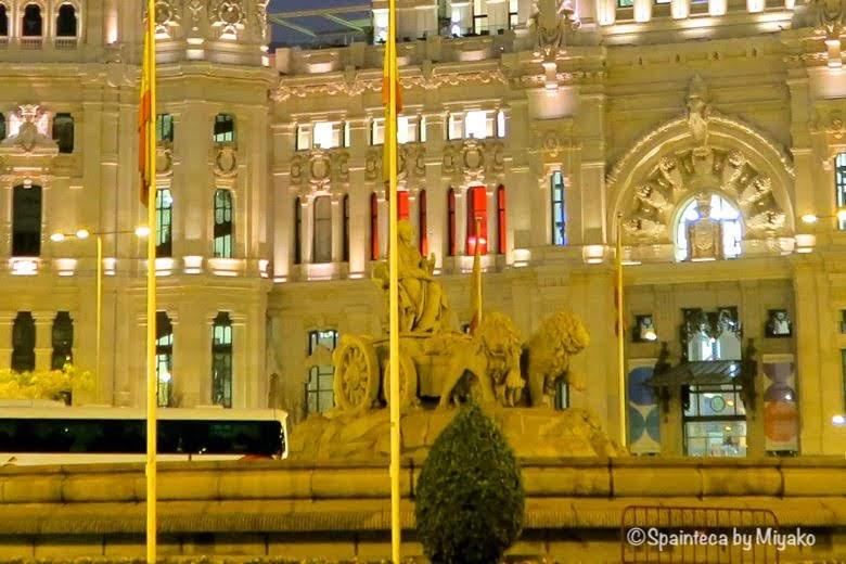 マドリードのシベレス広場