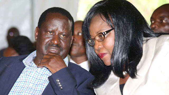 ODM chief Raila Odinga photo