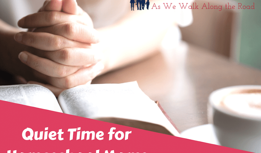 Quiet Time for Homeschool Moms: Ideas for Making Time for and Making the Most of Your Quiet Time