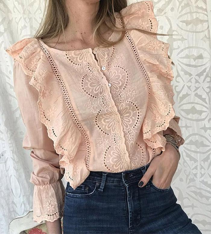 Blusas y camisas primavera verano 2020 moda mujer 2020.