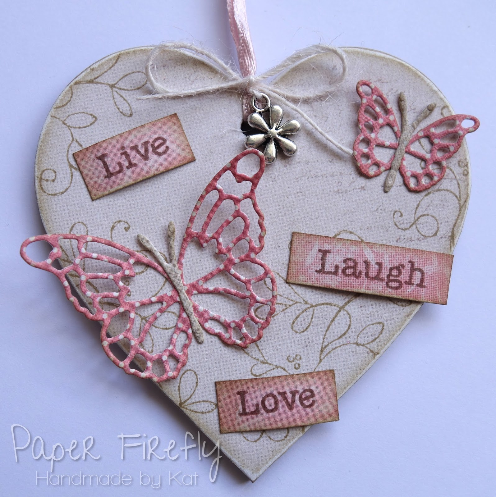 Paper Firefly Live Laugh Love