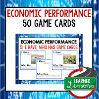 Economic Performance, Free Enterprise, Economics, Free Enterprise Lesson, Economics Lesson, Free Enterprise Games, Economics Games, Free Enterprise Test Prep, Economics Test Prep