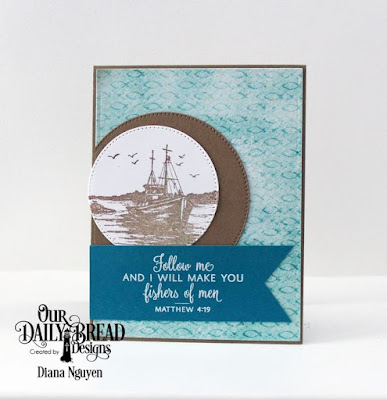 Our Daily Bread Designs, The Waves on the Sea, Pierced Circles, Jesus Loves You, Designed by Diana Nguyen