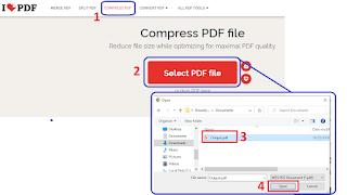 Kompres PDF 200 kb