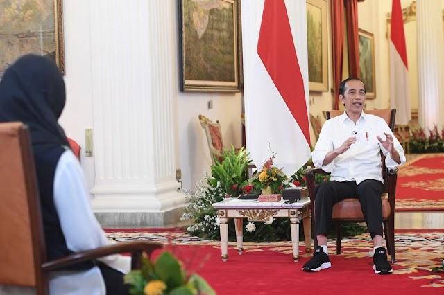 Presiden Jokowi Ajak Seluruh Pihak Berkolaborasi Persiapkan SDM Unggul