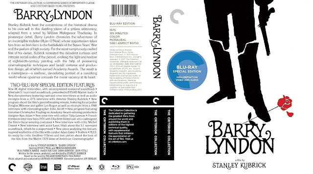 Barry Lyndon Bluray Cover