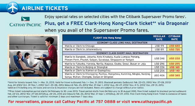 Citibank Travel Deals