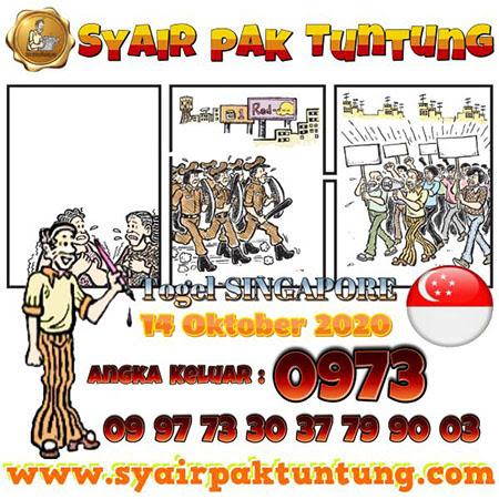 Prediksi Pak Tuntung SGP Rabu 14 Oktober 2020