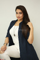 Manjusha in White Tight T Shirt and Black Jacket ~  Exclusive Celebrities Galleries 019.JPG
