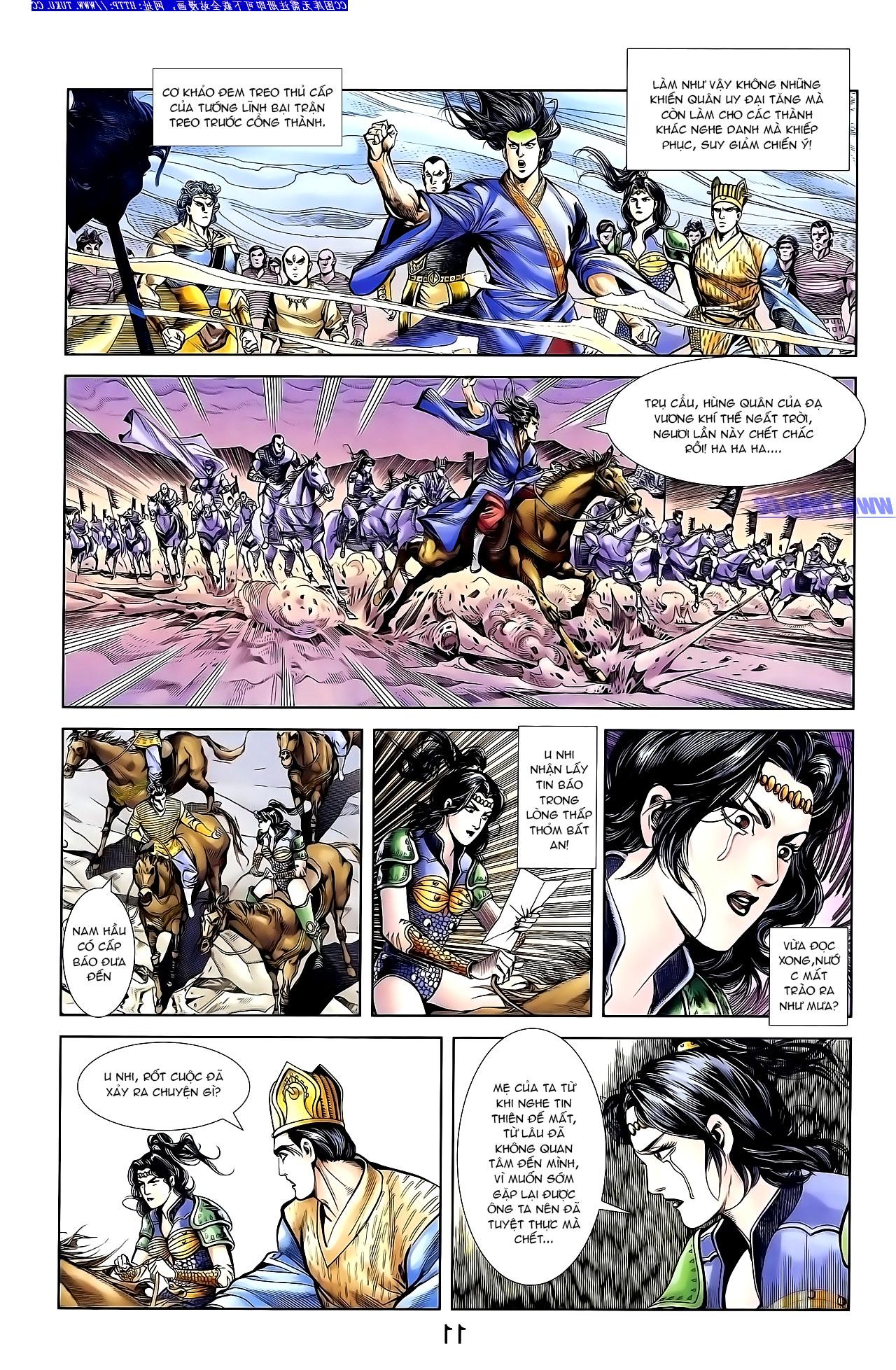 Cơ Phát Khai Chu Bản chapter 138 trang 22