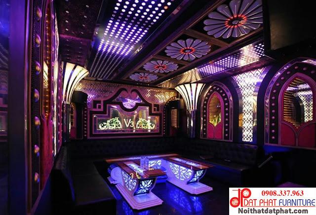 Thiết kế phòng karaoke vip
