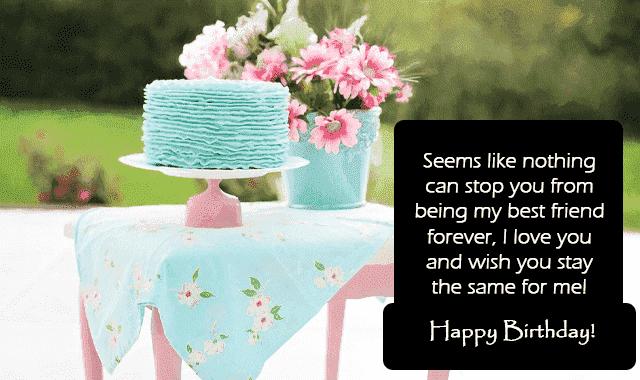 birthday wishes to my dear friend