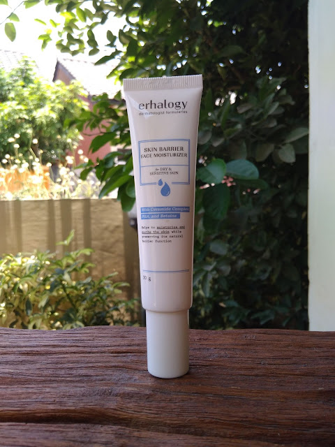 Review ERHA Skin Barrier Face Moisturizer for Dry & Sensitive Skin