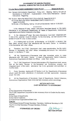 Government directives making biometric attendance mandatory.