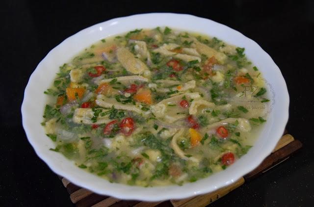 perut lembu air asam, fatiha zainal, masakan kelantan