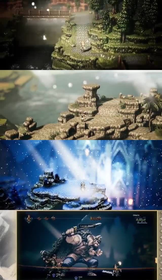 50 UPCOMING NINTENDO SWITCH GAMES OF 2018 34. Project Octopath Traveler