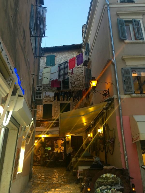 Die Altstadt von Rovinj, Kroatien