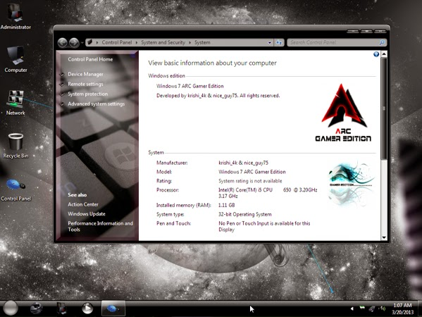 Windows 7 Gamer Edition x64 by UNDEADCROWS-ISO