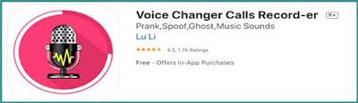 تعديل وتغيير الصوت لليفون، تطبيق تغيير الصوت للايفون