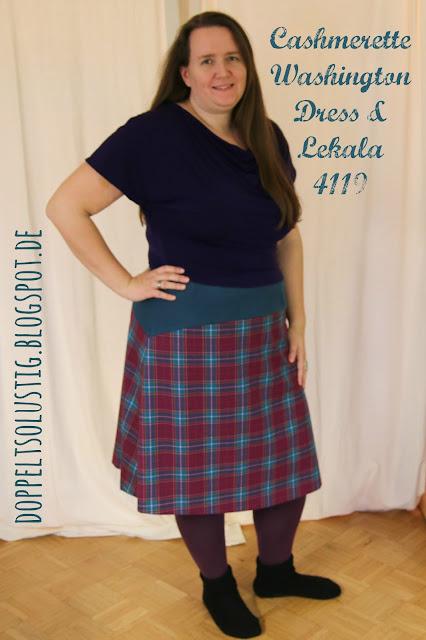 Cashmerette Washington Dress + Lekala 4119 Frankenpattern | Twice the Fun