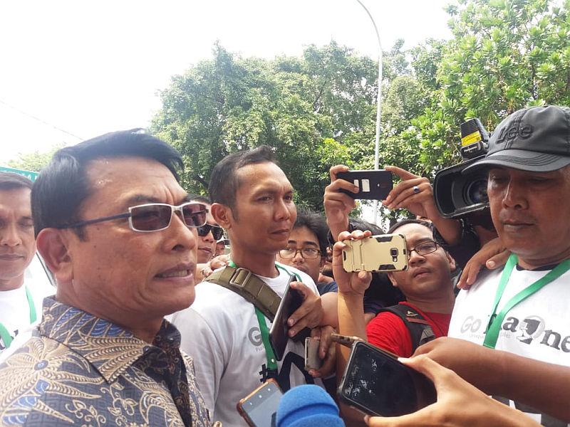 Moeldoko ke SBY: Jangan Tekan Saya Seperti Itu!