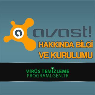 Avast Virüs Temizleme Programı