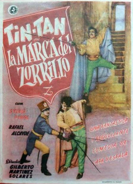 La Marca Del Zorrillo - 1950