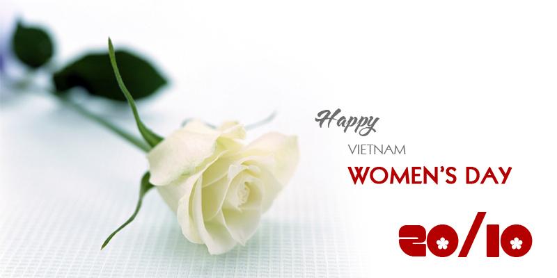 Happy Vietnam's Women's Day!