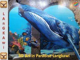 Aquarium Zone, 3D Art in Paradise Langkawi
