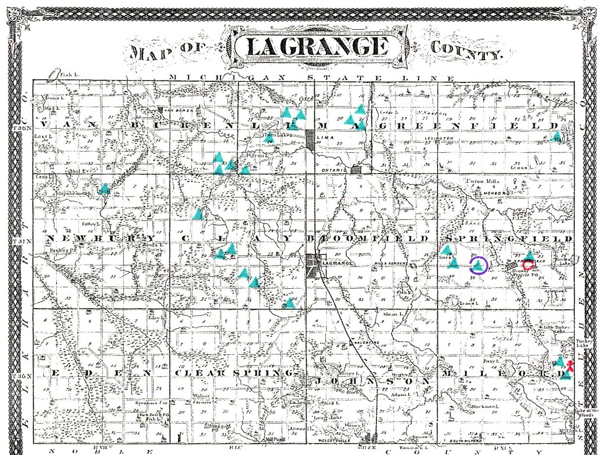 Lagrange Ohio Map.Mound Builders A Travel Guide To The Ancient Ruins In The Ohio