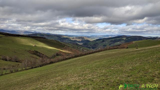 Vista del valle de Cangas del Narcea